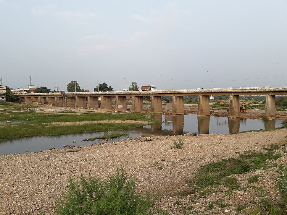 Harnav River Bridge Khedbrahma Gujarat