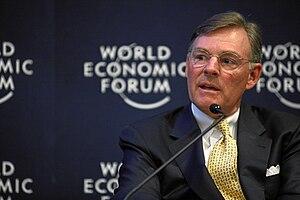 Harold McGraw III - McGraw at the World Economic Forum Annual Meeting, 2011.