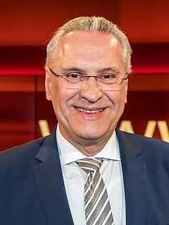 Joachim Herrmann (CSU) German politician (CSU), Bavarian Minister of the Interior