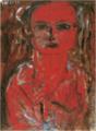 HasegawaToshiyuki-1933-A Red Girl.png