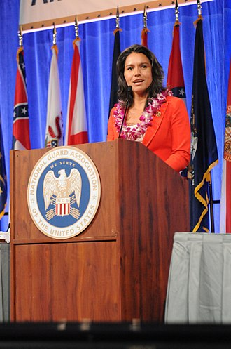 Tulsi Gabbard - Gabbard speaks at the 135th National Guard Association of the United States conference in 2013