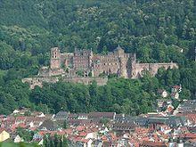 Il Castello visto dal Philosophenweg