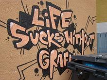 \u0026quot;La vida sin grafiti apesta\u0026quot;
