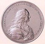 Медаль «В память заслуг графа А.И.Остермана». 1730-е гг.
