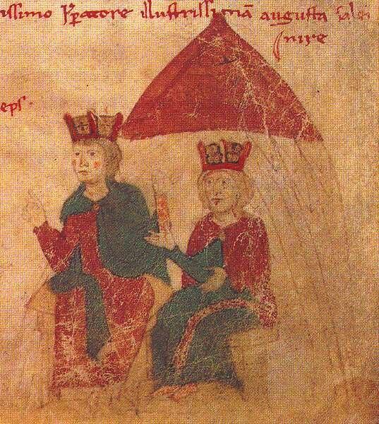 Heinrich VI - Konstanze von Sizilien