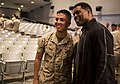 Heisman trophy winner, Herschel Walker speaks with Marines 150324-M-JH782-005.jpg