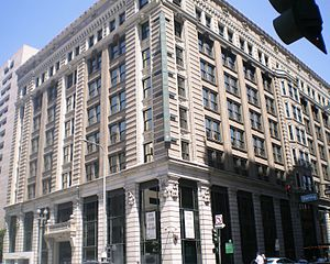 Herman W. Hellman - The Hellman Building in Downtown Los Angeles in 2008.