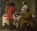 Hendrick ter Brugghen - Jacob verwijt Laban zijn bedrog met Lea (1627).jpg