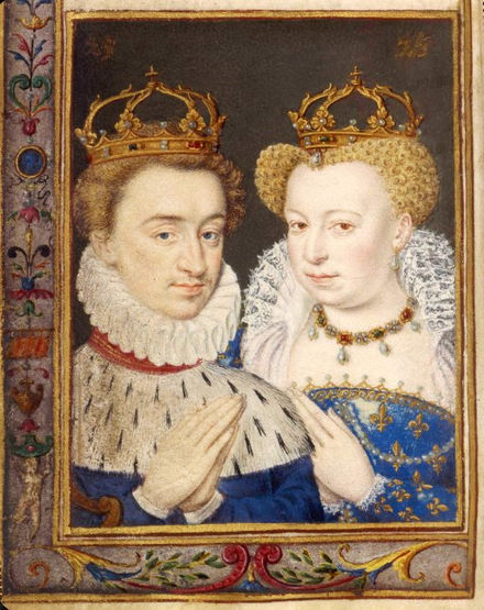Henry of Navarre and Margaret of Valois Henry&Margot.jpg
