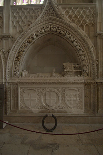 Prince Henry the Navigator - Henry's tomb in the Monastery of Batalha