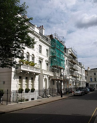 Hereford Square - Hereford Square, north side