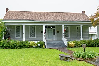 National Register of Historic Places listings in Madison Parish, Louisiana - Image: Hermione Museum, Tulluah, Louisiana