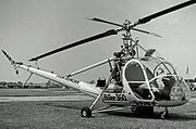Hiller UH-12A G-ANOC Fison-Awk RWY 09.07.55 edited-2