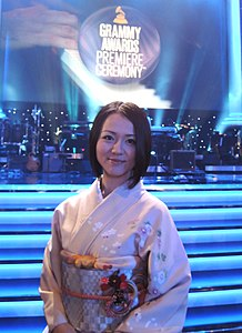 Hiroko Tsuji at 57th Grammy Awards Ceremony.jpg