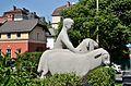Hirte mit zwei Schafen by Franz Barwig the Younger 01.jpg