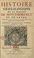 Histoire généalogique de la maison de Montmorency et de Laval par André Du Chesne.jpg