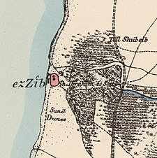 Historical map series for the area of Achziv (1870s).jpg