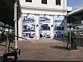 Historical photo exhibition at Maputo Train Station.jpg