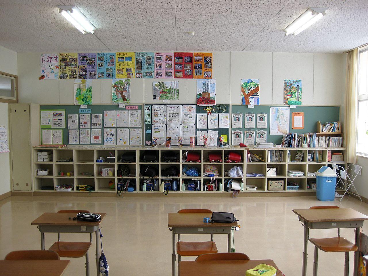 Elementary School Classrooms ~ File hitane elementary school classroom g wikimedia
