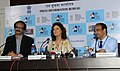 Hollywood Actress Susan Sarandon addressing a Press Conference, at the 44th International Film Festival of India (IFFI-2013), in Panaji, Goa. The Director, International Film Festival of India (IFFI).jpg