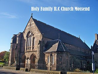 Mossend - Holy Family R.C Church Mossend