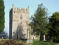 Holy Trinity Church Tower, Holdgate, Shropshire - geograph.org.uk - 671807.jpg
