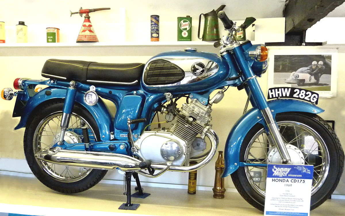 honda cd175 wikipedia