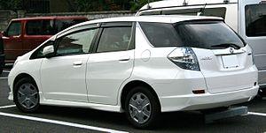 Honda Fit Shuttle - Honda Fit Shuttle Hybrid