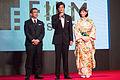 Honda Tsubasa, Sato Koichi & Shinohara Tetsuo (Terminal) at Opening Ceremony of the 28th Tokyo International Film Festival (22270090839).jpg