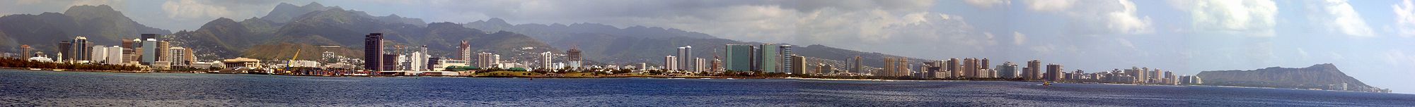 Puerto de Honolulu.