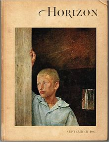 Horizon cover-September, 1961, Vol. 4, No. 1.jpg