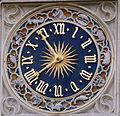 Horloge de la tour de l'église Saint-Germain l'Auxerrois.JPG