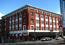 Photograph of the Hotel Ramapo.