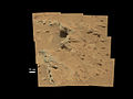 Hottah outcrop on Mars by Curiosity rover.jpg