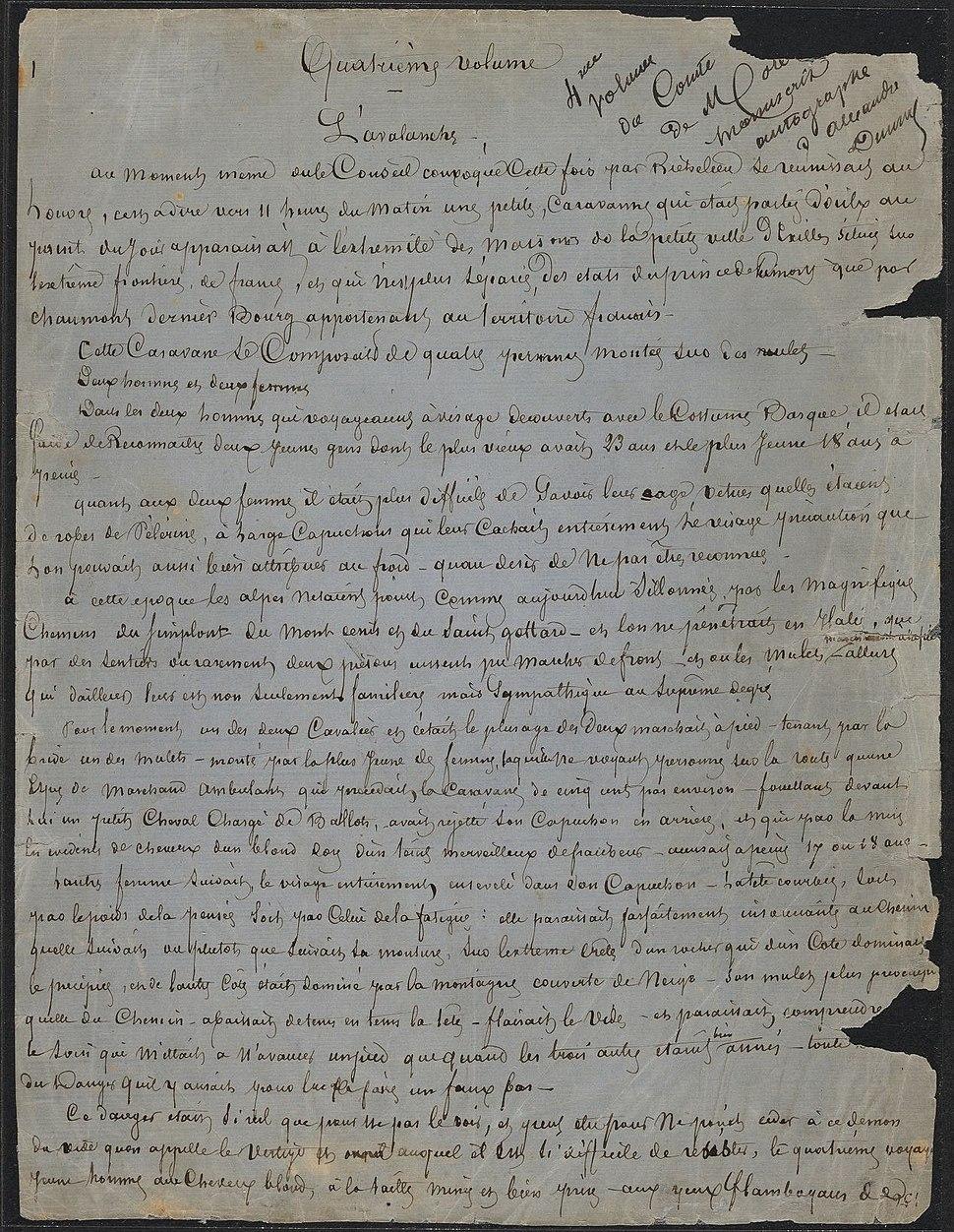Houghton MS Fr 133.1 - Le Comte de Moret, 1
