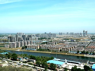 Huaiyin District, Jinan - Image: Huaiyin, Jinan, Shandong, China panoramio (23)