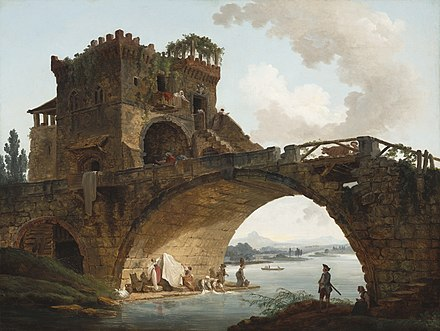 The Ponte Salario, c. 1775, National Gallery of Art Hubert Robert, The Ponte Salario, c. 1775, NGA 41665.jpg