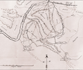 Hudson's Bay Company sketch map of the Red Deers Lake-Athabasca River area. Detail. 1876.png