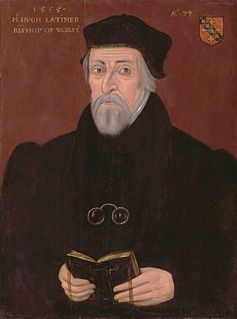 Hugh Latimer British bishop