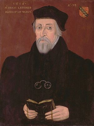 Hugh Latimer - Image: Hugh Latimer from NPG