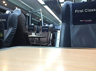Hull Trains - Class 180 First Class Interior