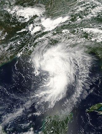 Hurricane Cindy (2005) - Image: Hurricane Cindy 2005 07 05