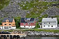 Hurtigruten coming into port at Havoysund, northen Norway (5).jpg