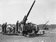Hyde Park Anti-aircraft guns H 993