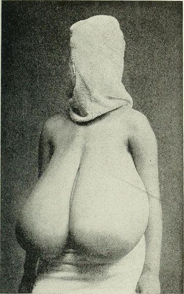 Pregnant woman in bondage