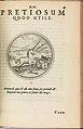 I) Symbolarum et Emblematum ex Aquatilibus et Reptilibus Desumptorum. Centuria Quarta. (1604) MET DP280233.jpg