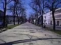 II Aleja NMP powstała na początku XIX w. droga łącząca Cz-we i Nową Cz-we, administracyjnie połączone 19 VIII 1826 r. - panoramio.jpg