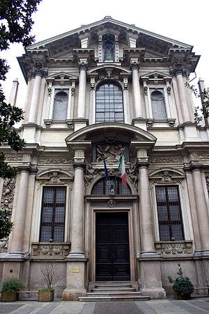 San Paolo Converso - Façade of the church.