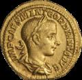 INC-2057-a Ауреус. Гордиан III. Ок. 239 г. (аверс).png