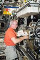 ISS-47 Jeff Williams works with the Light Microscopy Module in the Destiny lab.jpg
